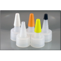 24 mm Short Spout Cap-Hole With Tip Over Cap