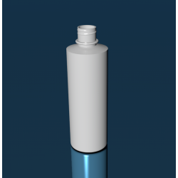 8 oz Cylinder Round 24/410 W/Ring